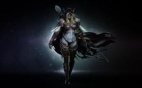 Picture WOW, Blizzard, Art, World of WarCraft, WarCraft, Silvana, Sylvanas Windrunner, Fanart, Sylvanas, WarCraft 3, Windrunner, …