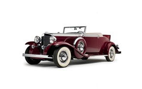 Picture convertible, 1931, classic car, marmon sixteen