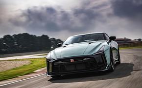 Picture movement, Nissan, GT-R, track, R35, Nismo, ItalDesign, 2020, V6, GT-R50, 720 HP