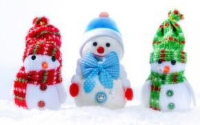 Picture macro, toy, snowman, snegovichok