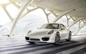 Picture Auto, White, 911, Machine, Car, Art, Render, Porsche 911, Design, Supercar, Supercar, Sports car, Sportcar, …