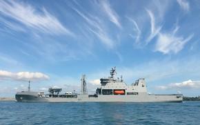 Picture Australia, Navy, auxiliary fleet, HMNZS Aotearoa