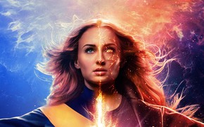 Picture fiction, comic, MARVEL, Sophie Turner, Sophie Turner, Dark Phoenix, X-Men: The Dark Phoenix