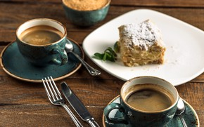 Picture coffee, Cup, cake