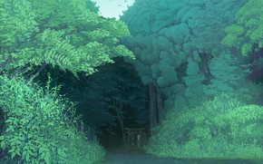 Picture track, cap, friend, in the woods, in the distance, maribel hearn, Touhou Project, Project East, …