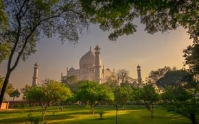 Picture Park, India, Taj Mahal, Agra