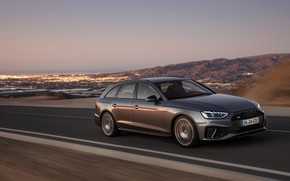 Picture movement, Audi, universal, 2019, A4 Avant