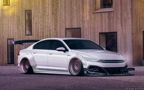 Picture Auto, White, Machine, Tuning, Volkswagen Passat, Passat, Transport & Vehicles, Ayhan Aytan, by Ayhan Aytan