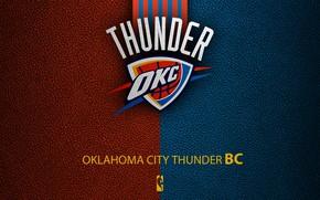 Picture wallpaper, sport, logo, basketball, NBA, Oklahoma City Thunder