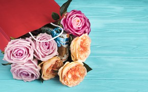 Picture flowers, bouquet, packaging, Ana Lukenda