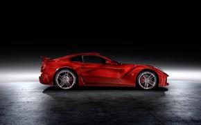 Picture Ferrari, supercar, side view, Mansory, Berlinetta, F12, 2013, The Revolution
