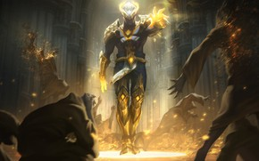 Picture light, art, league of legends, moba, riot games, arclight brand