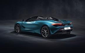 Picture McLaren, rear view, Spider, 720S, 2019