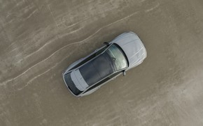 Picture sand, Audi, shore, the view from the top, universal, RS 6, 2020, 2019, V8 Twin-Turbo, …