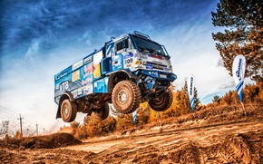 Picture Sport, Machine, Speed, Flight, Truck, Race, Master, Russia, Kamaz, Rally, Dakar, KAMAZ-master, Dakar, Rally, KAMAZ, …