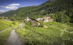 Picture mountains, France, The Hautes-Alpes