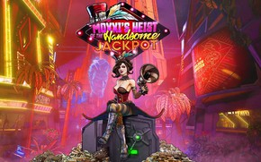 Picture girl, the city, Borderlands 3
