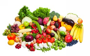 Picture fruit, still life, vegetables