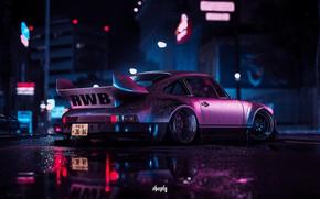 Picture Drops, Auto, The game, Machine, Style, Car, NFS, Porsche 911, Style, Carrera, 1973, Sports car, …