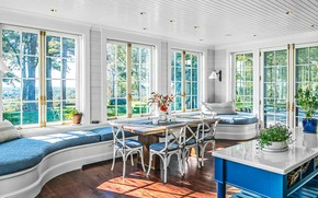 Picture room, interior, light, dining room, by Corp Walter Lane cabinetry, Thoughtforms