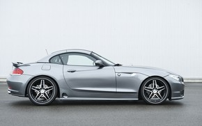 Picture roof, grey, BMW, Roadster, Hamann, 2010, side view, E89, BMW Z4, Z4