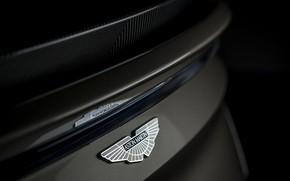 Picture Aston Martin, DBS, emblem, Superleggera, 2019, OHMSS, OHMSS Edition