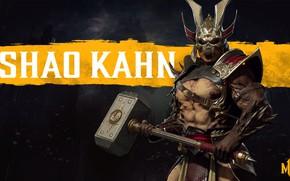 Picture hammer, the Emperor, hammer, conqueror, Shao Kahn, Shao Kahn, NetherRealm Studios, the conqueror, emperor, Mortal …