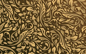 Picture background, pattern, curls