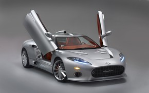 Picture auto, supercar, super, Aileron, Spyker, C8