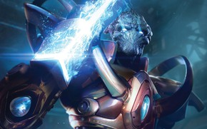Picture starcraft, blade, blade, strategy, protoss, protos, remastered