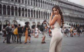 Picture ass, girl, area, Italy, Venice, legs, Stefan Häusler, Viktoria Stephanie