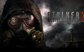 Picture gas mask, Chernobyl, Chernobyl, Pripyat, area, Ukraine, Stalker 2