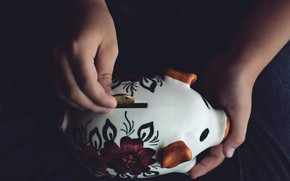 Picture money, piggy, pig