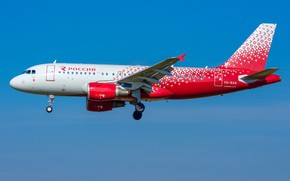 Picture Airbus, Russian Airlines, A319-100
