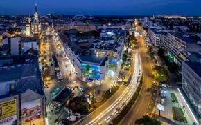 Picture Home, The evening, Street, Road, Serbia, Novi Sad, Juzhna Bachka