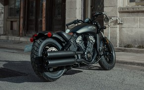 Picture Motorbike, Bobber, Indian Scout