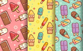 Picture background, texture, ice cream, ice cream