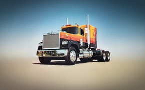 Picture truck, mack, superliner