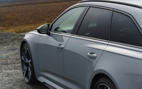 Picture grey, Audi, door, body, universal, RS 6, 2020, 2019, V8 Twin-Turbo, RS6 Avant, UK-version