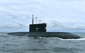 Picture submarine, diesel, Петропавловськ - Камчатский