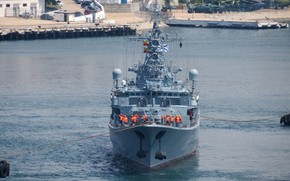 Picture ship, Navy, guard, project 1135m, inquisitive