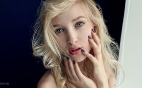 Picture girl, long hair, photo, photographer, blue eyes, model, bokeh, lips, face, blonde, portrait, mouth, close …
