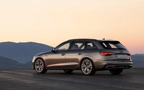 Picture the sky, Audi, Parking, universal, 2019, A4 Avant