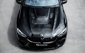 Picture coupe, the hood, BMW, top, before, G-Power, Bi-Turbo, 2020, BMW M8, two-door, M8, M8 Coupe, …
