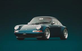 Picture Auto, Minimalism, 911, Porsche, Retro, Machine, Style, Car, Sports car, Singer, Transport & Vehicles, Porsche …