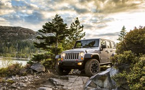 Picture Car, Nature, Landscape, Wrangler, Jeep, Unlimited, Rubicon