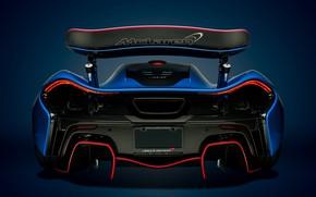 Picture McLaren, Blue, Hypercar