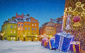 Picture Christmas, Poland, Warsaw