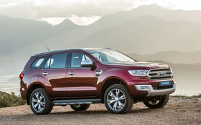 Picture Ford, SUV, Everest, Limited, 4WD, 2015, frame