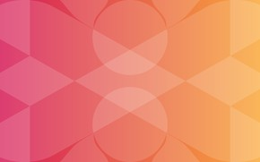 Picture Vector, Abstraction, Gradient, Orange background